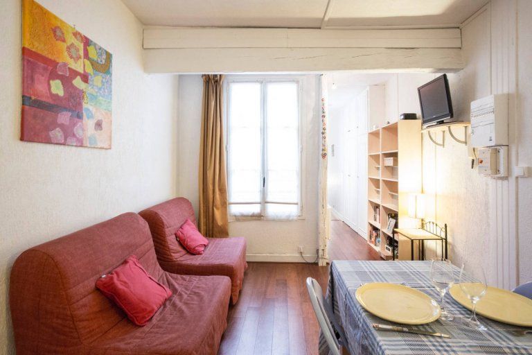 Charming 1-bedroom apartment for rent in Temple, Paris 3