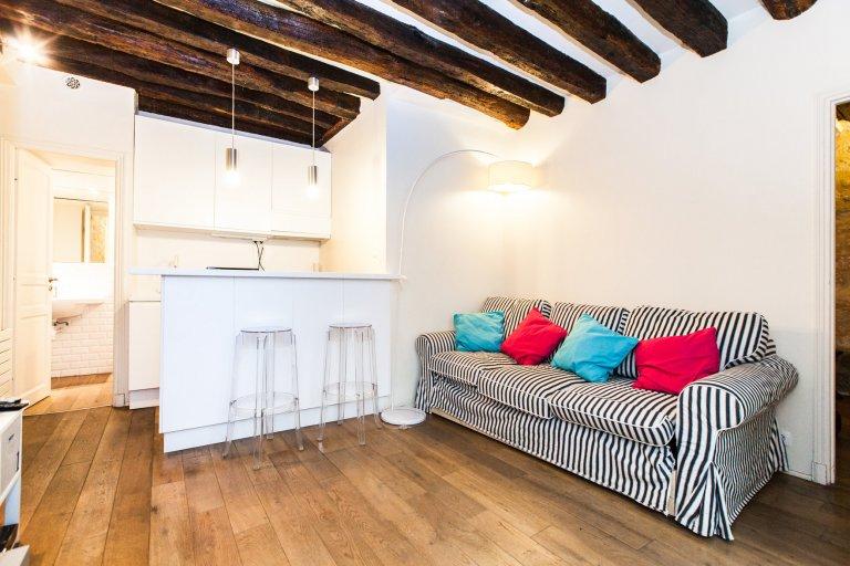 Charmant appartement 1 chambre à louer dans le 2ème arrondissement