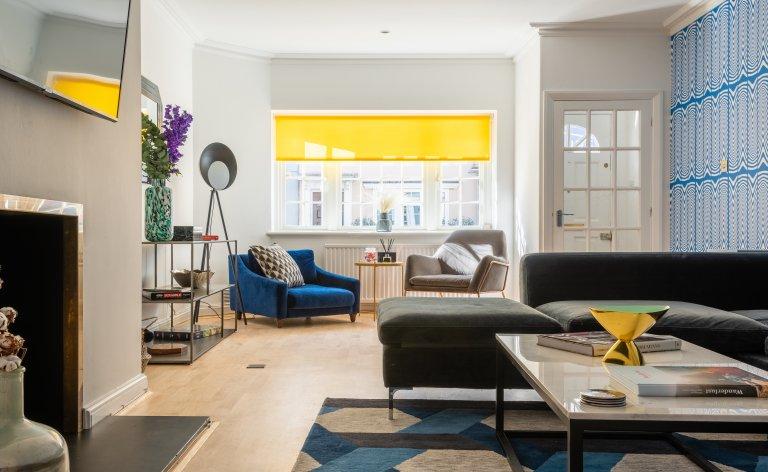 Stilvolle 4-Zimmer-Wohnung zur Miete in Chelsea, London