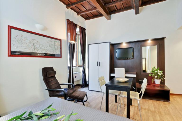 Studio à louer à Trastevere, Rome