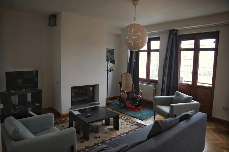 Chic 1-bedroom apartment for rent in Schaerbeek, Brussels
