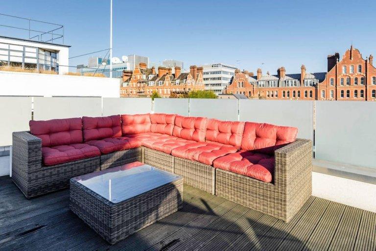 Espectacular apartamento de 3 quartos para alugar em Camden, Londres