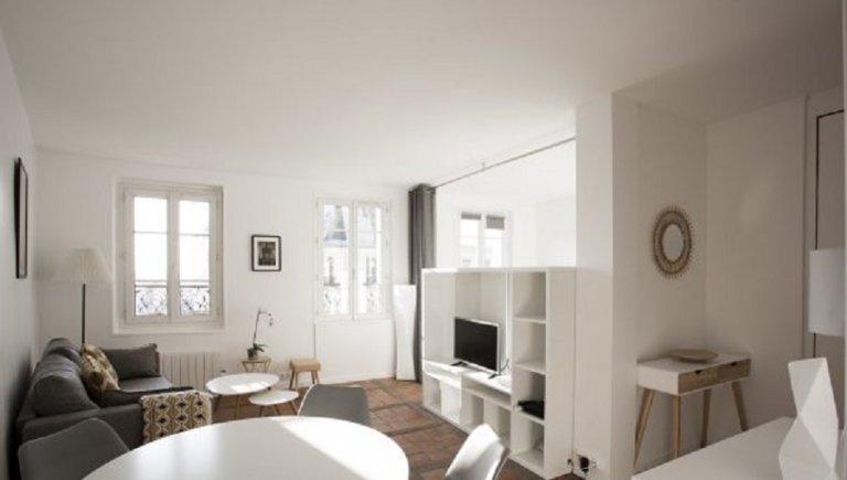 Studio apartment for rent in 18th arrondissement, Paris