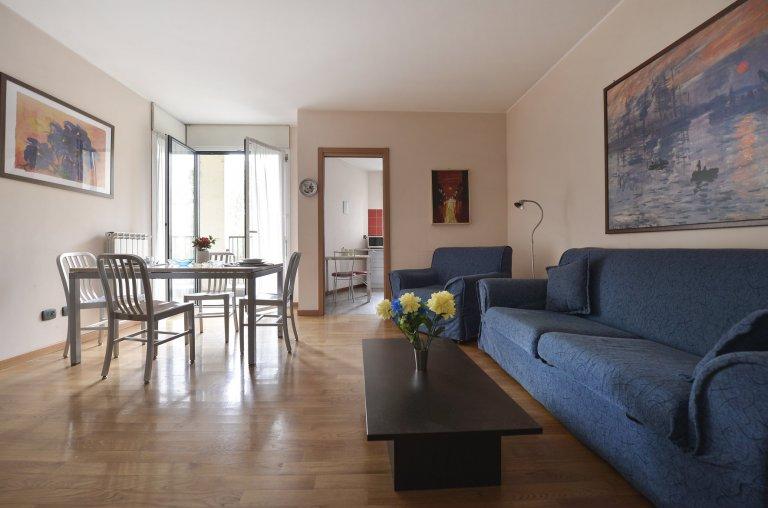 Wspaniały 2-pokojowy apartament do wynajęcia w Navigli, Mediolan