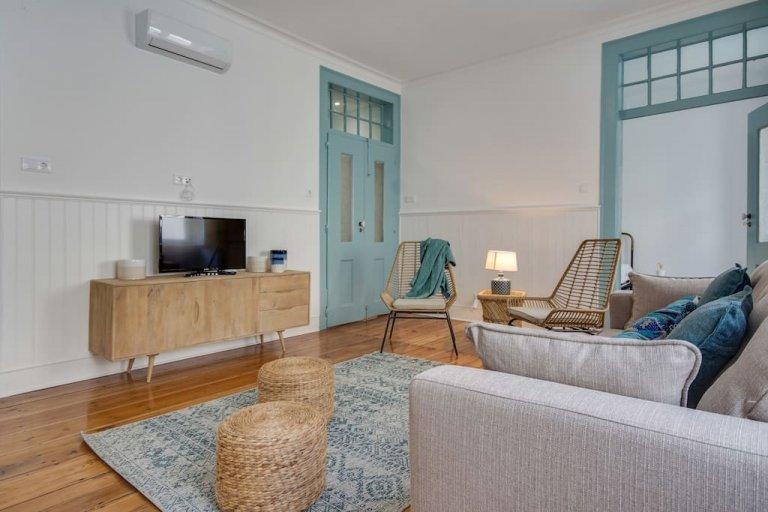 Rossio e Restauradores'de kiralık 3 yatak odalı daire