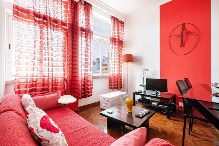 2-yatak odalı kiralık daire Campolide, Lizbon