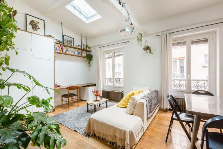 2-bedroom apartment for rent in Paris 18