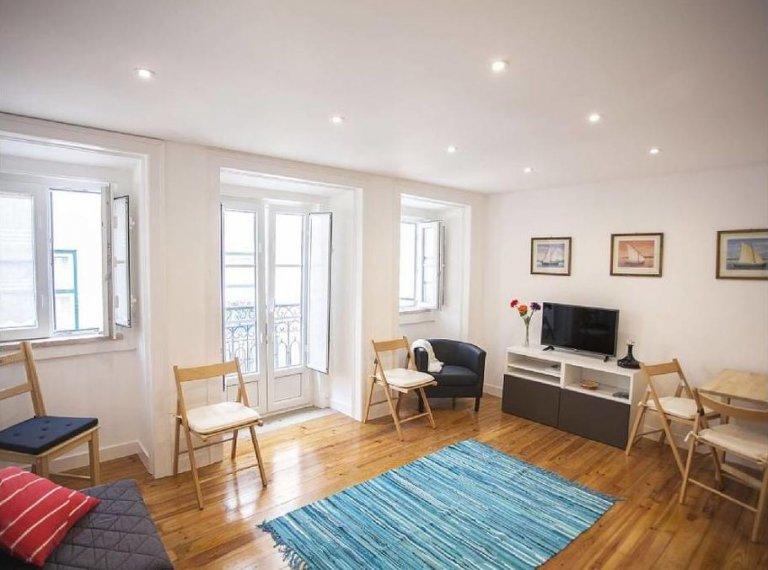 Lumineux appartement 1 chambre à louer à Bairro Alto, Lisbonne