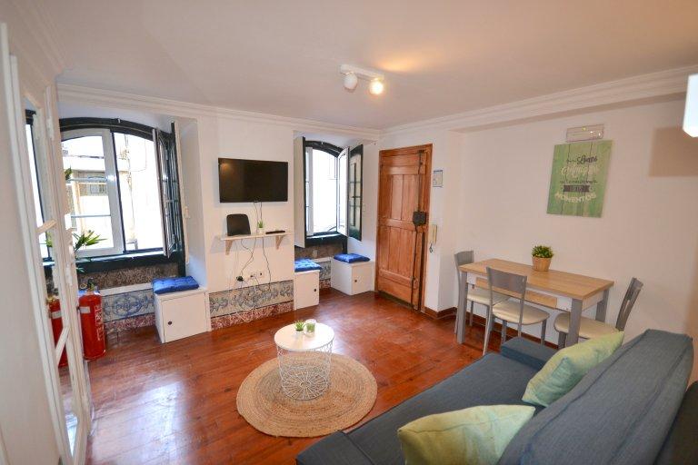 Lizbon, Estrela kiralık 1 + 1 daire