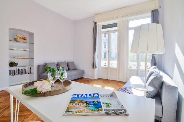 Nowoczesne 1-pokojowe mieszkanie do wynajęcia na Piazzale Bacone