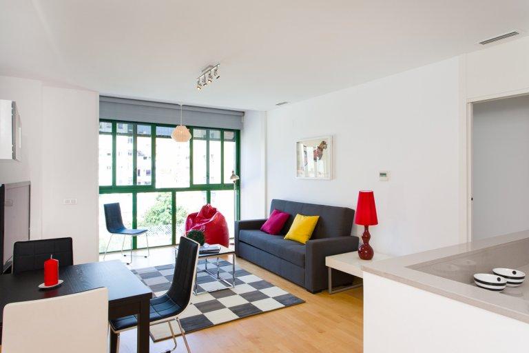 Apartamento de 2 quartos para alugar em Vila Olímpica, Barcelona