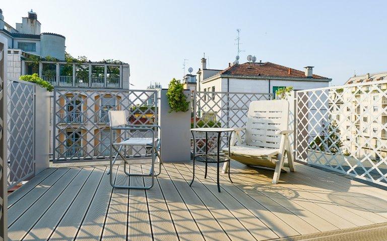 Beautiful 1-bedroom apartment for rent in Guastalla, Milan