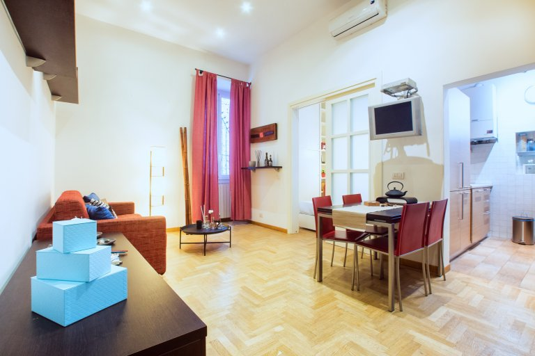 Amazing 3-bedroom apartment for rent in Centro Storico, Rome