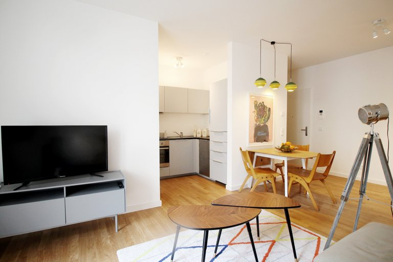 Stylish 1-bedroom apartment for rent in Mitte, Berlin