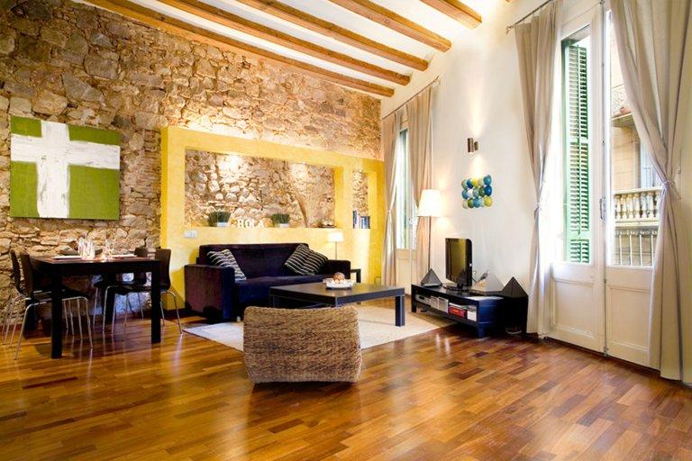 Chic appartement 1 chambre à louer à El Born, Barcelone