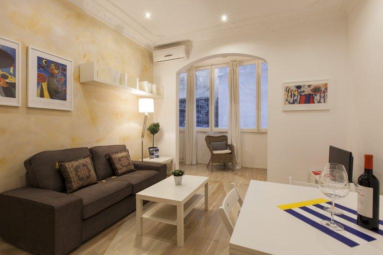 3-bedroom apartment for rent in Gràcia, Barcelona
