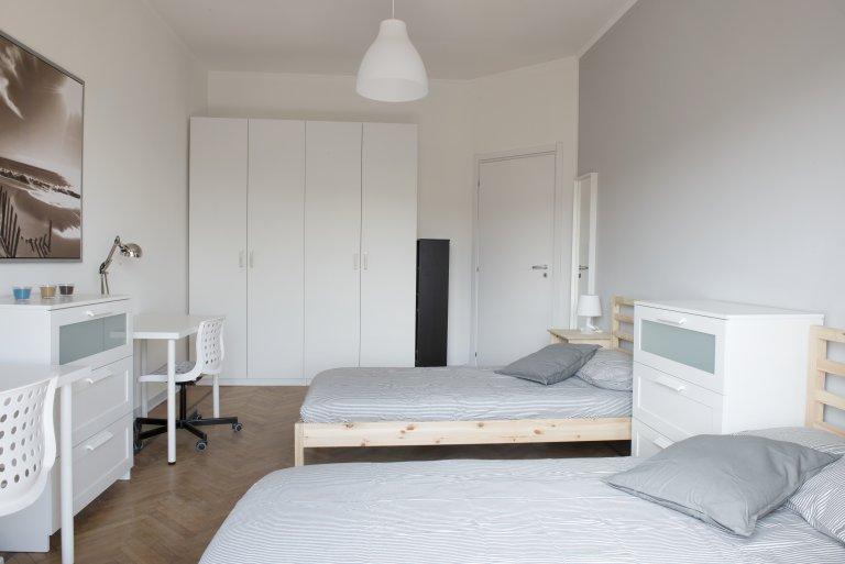 Mehrbettzimmer in Lorenteggio mit 2 Schlafzimmern