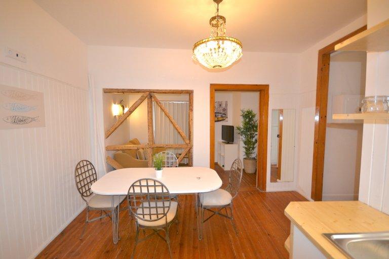 Elegante apartamento de estúdio para alugar em Alcantara, Lisboa