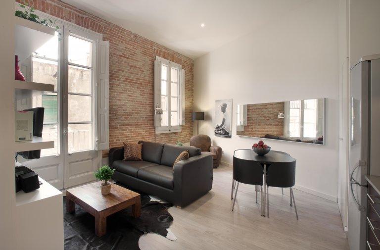 Studio-Wohnung zur Miete in Barri Gòtic, Barcelona