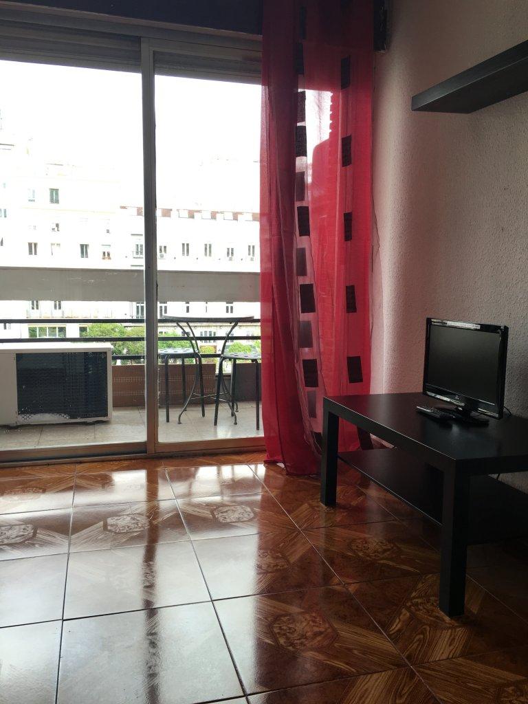Apartamento de 1 quarto para alugar em Chueca, Madrid
