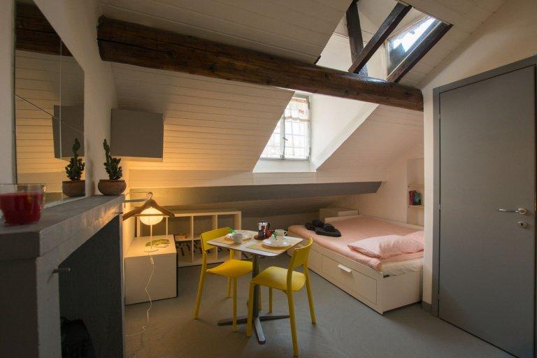 Bocconi, Milano'da kiralık sevimli stüdyo daire
