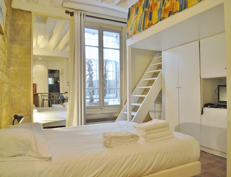 Lovely studio apartment for rent in the 4th arrondissement