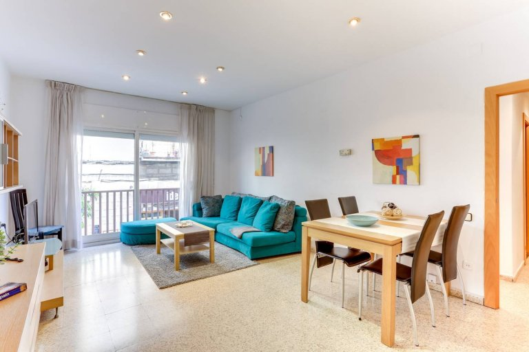 3-bedroom apartment for rent in Vila Olímpica, Barcelona