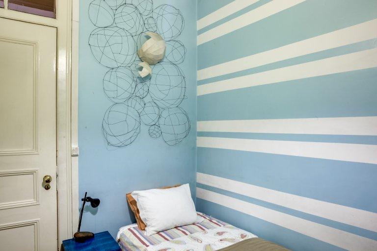 Habitación en apartamento de 4 dormitorios en Estrela, Lisboa