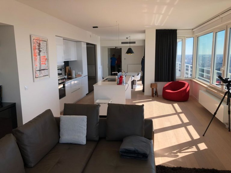 3 yatak odalı kiralık daire, Saint Josse, Brüksel