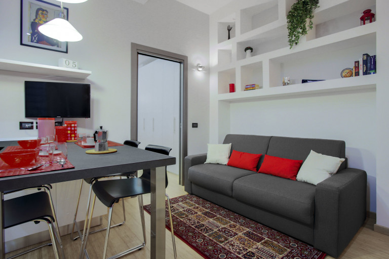 Modern 1-bedroom apartment for rent in Lodi-Corvetto, Milan