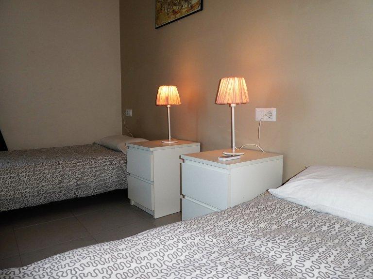 Dış oda, Barri Gòtic, Barcelona 4 yatak odalı daire