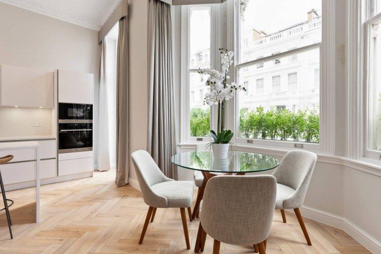 Tranquille appartement de 3 chambres à louer à Kensington, Londres