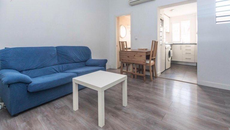 Apartamento de 1 quarto para alugar em La Latina, Madrid
