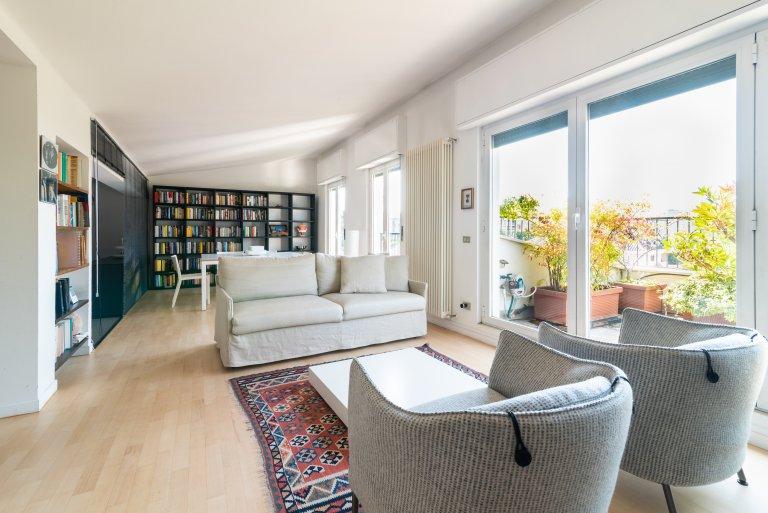 Apartamento de 1 quarto para alugar em Wagner, Milão