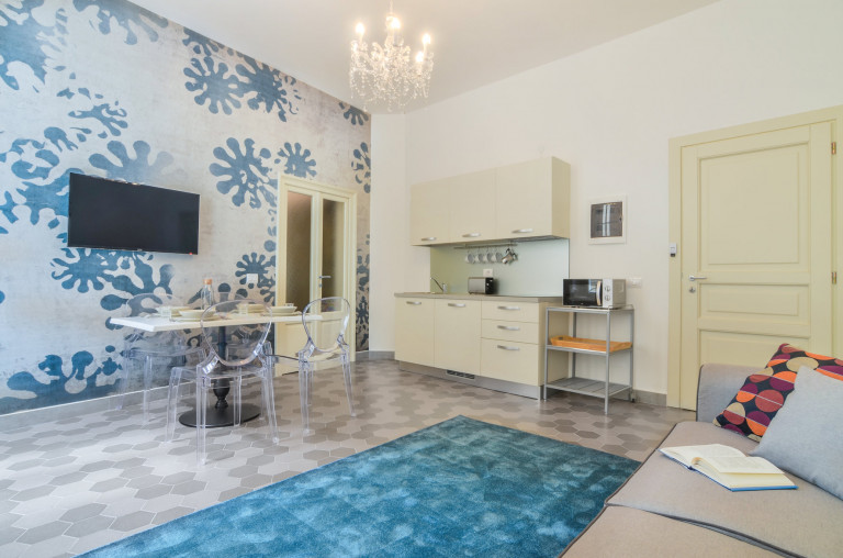 Deluxe 1-bedroom apartment for rent in Maggiolina, Milan