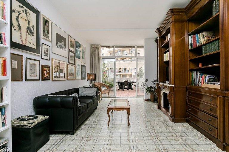 Apartamento de 3 quartos para alugar em Les Corts, Barcelona