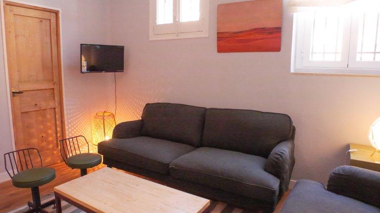 Ganze 3-Zimmer-Wohnung in Madrid