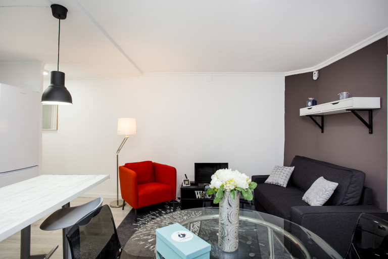 Apartamento moderno de 3 quartos para alugar, Hospitalet de Llobregat