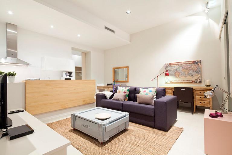 Apartamento de 3 quartos moderno para alugar em El Born, Barcelona