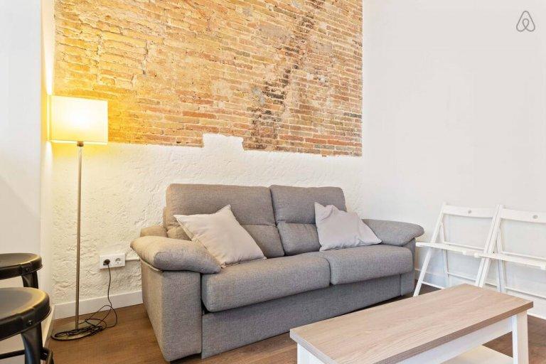 Piękne 3-pokojowe mieszkanie do wynajęcia w Gràcia w Barcelonie