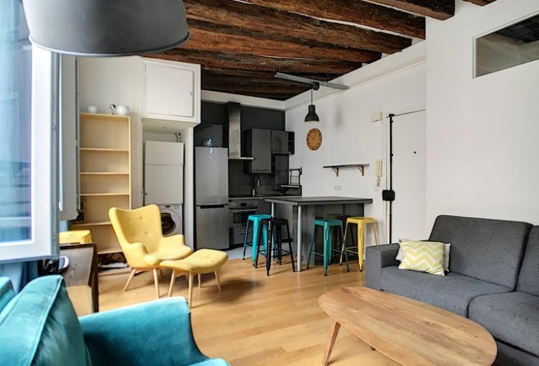 1-bedroom apartment for rent in Paris 15