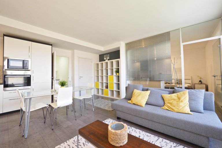 1-pokojowe mieszkanie do wynajęcia w Eixample Esquerra, Barcelona