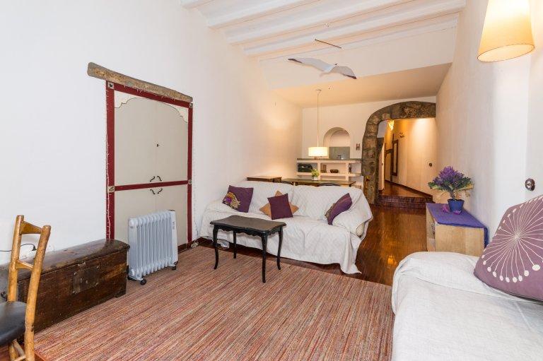 Appartement décontracté 1 chambre à louer à El Born, Barcelone
