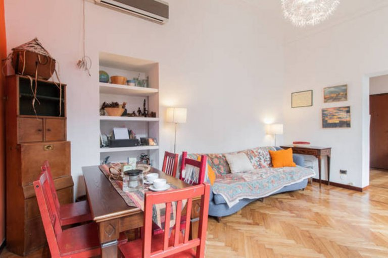 3-bedroom apartment for rent in Brera District, Milan
