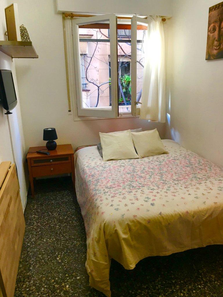 Chambre extérieure dans l'appartement à Sagrada Familia, Barcelone