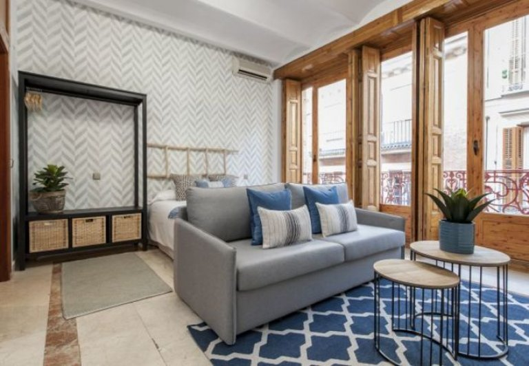 Chic studio apartment for rent in Centro, Madrid