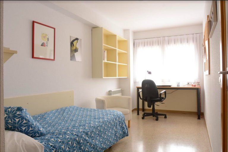 Room in residence hall in Ciudad Universitaria, Madrid