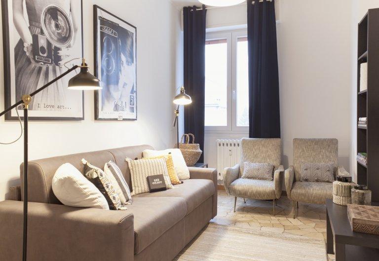 Apartamento de 2 quartos para alugar em Affori, Milão