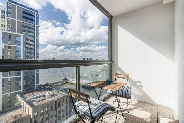 3-pokojowe mieszkanie do wynajęcia w Greenwich w Londynie