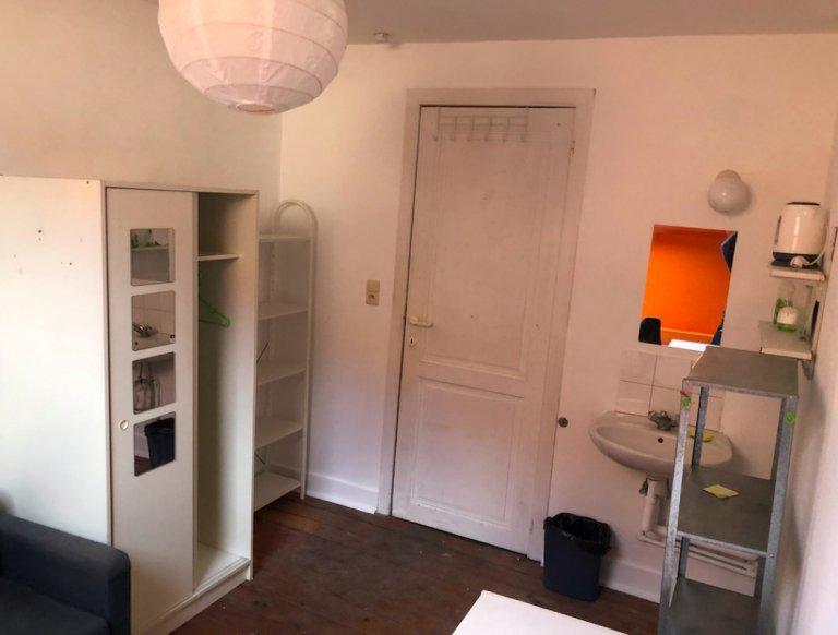 Zimmer zur Miete in einer 2-Zimmer-Wohnung im Stadtzentrum von Brüssel